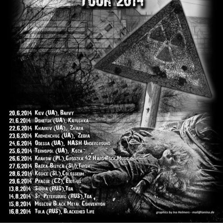 CLAYMORDS Tour Dates