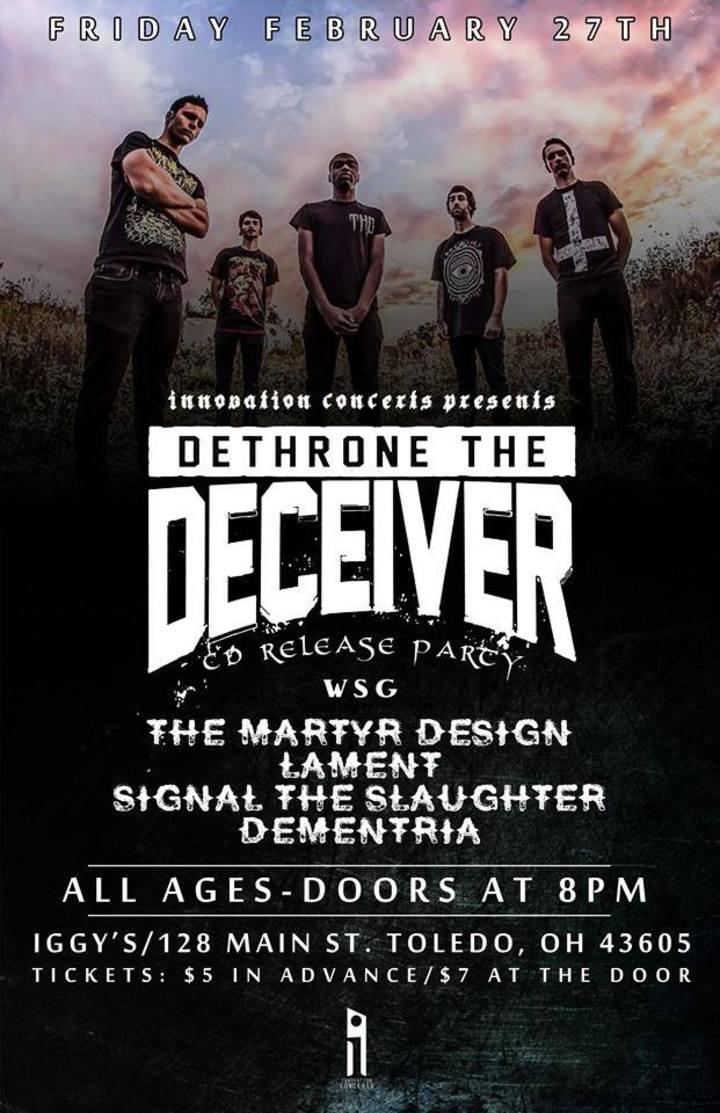 Dementria Tour Dates