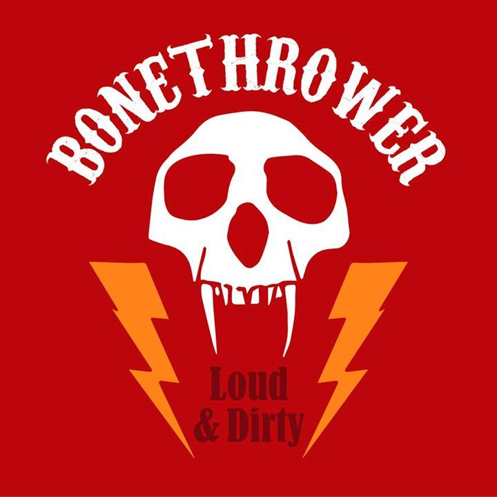 BoneThrower Tour Dates