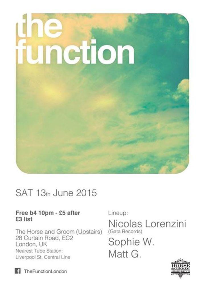 The Function London Tour Dates