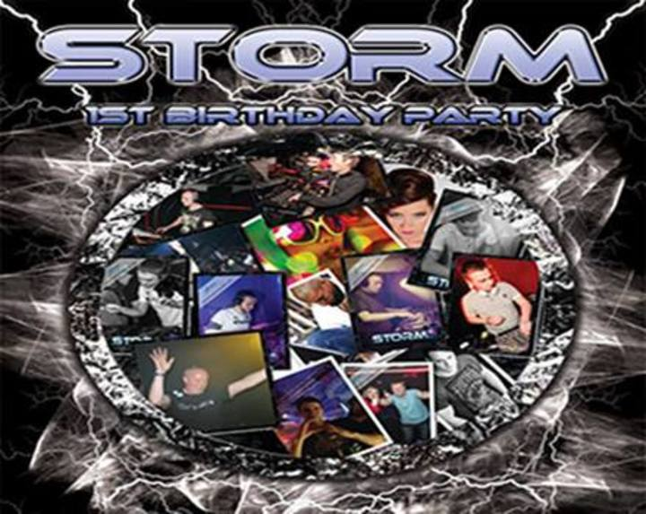CLUB STORM Edinburgh Tour Dates