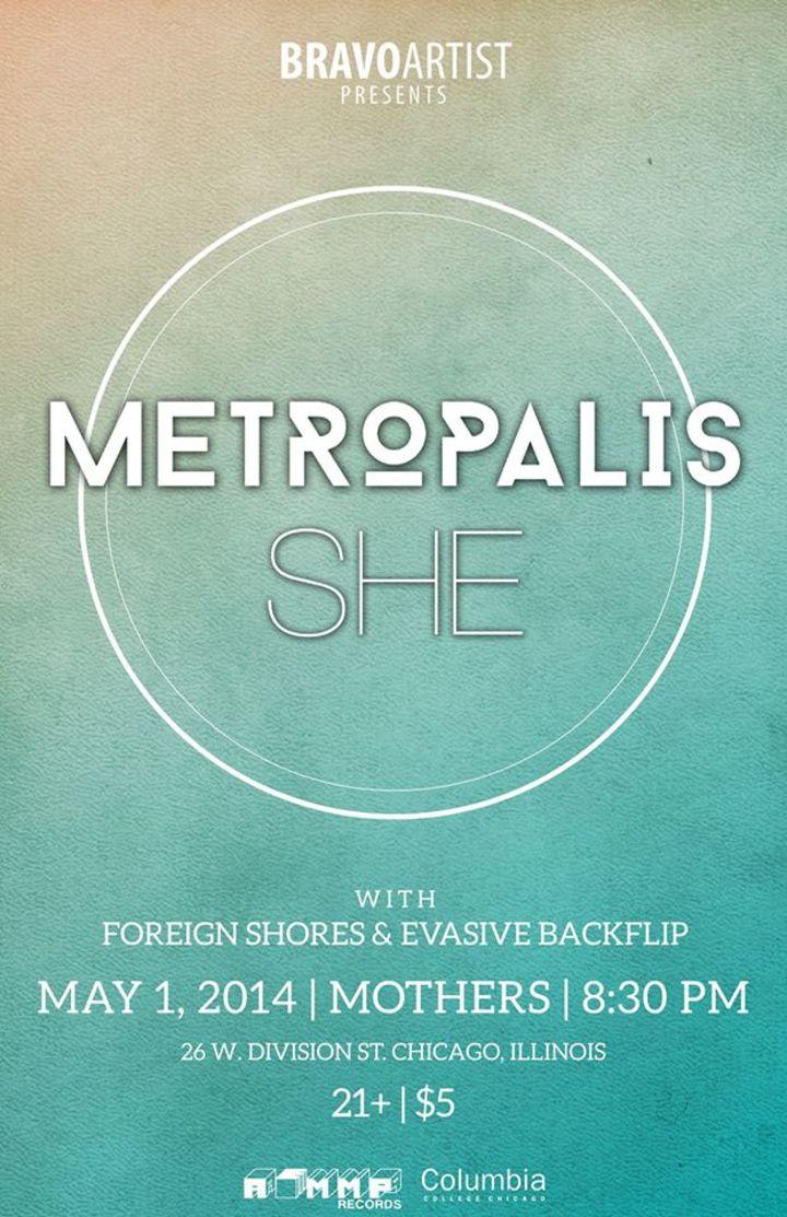 Metropalis Tour Dates