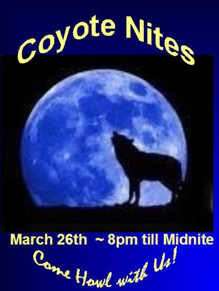 Coyote Nites Tour Dates