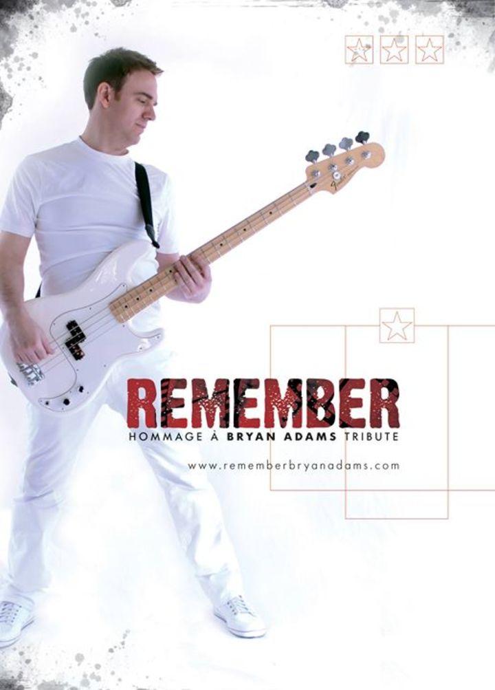 Remember Bryan Adams Tour Dates