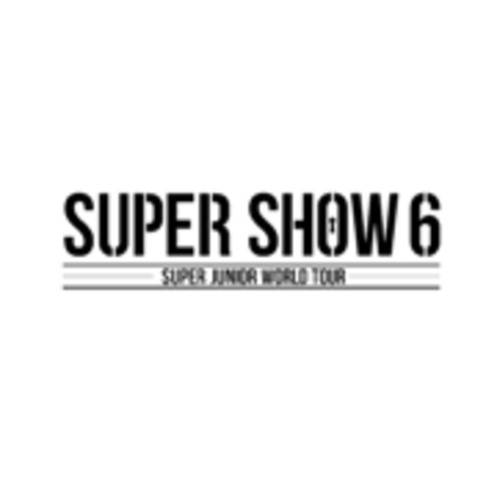 "Super Junior World Tour ""Super Show 6"" Tour Dates"