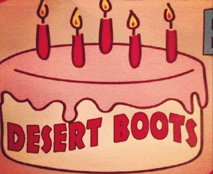 Desert Boots Tour Dates