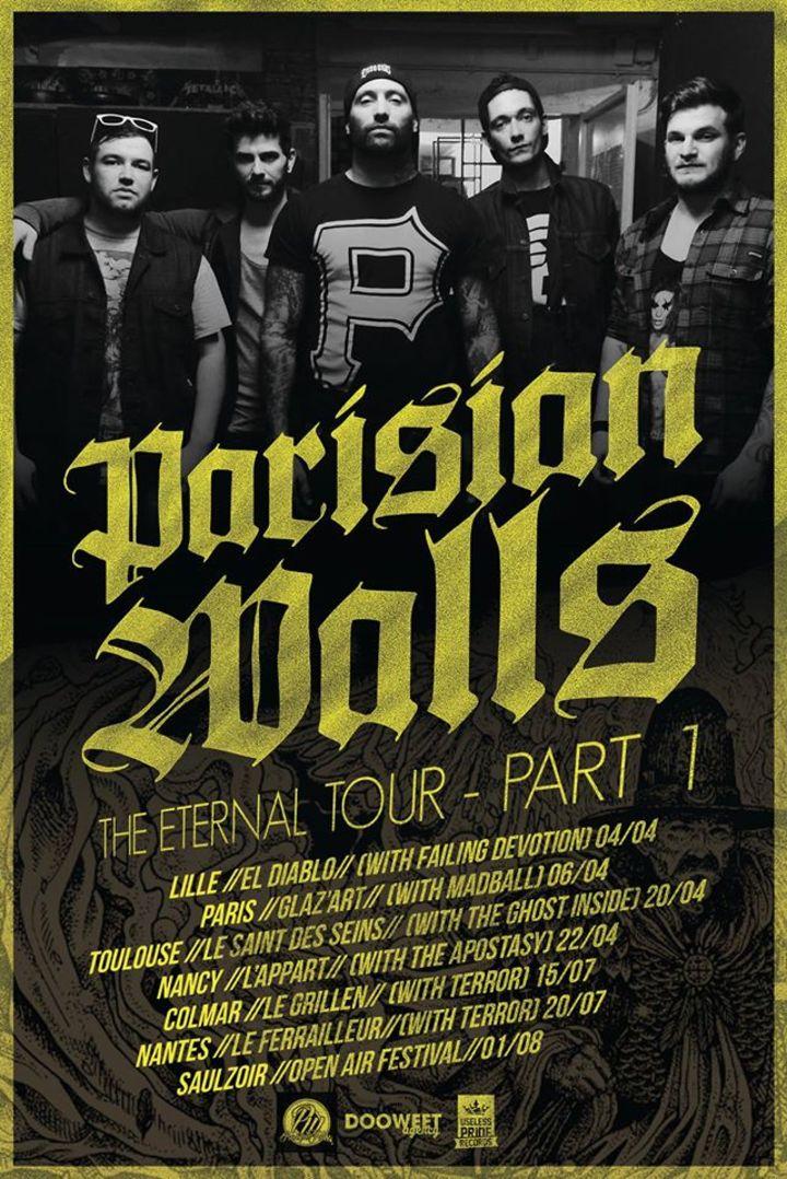 Parisian Walls Tour Dates