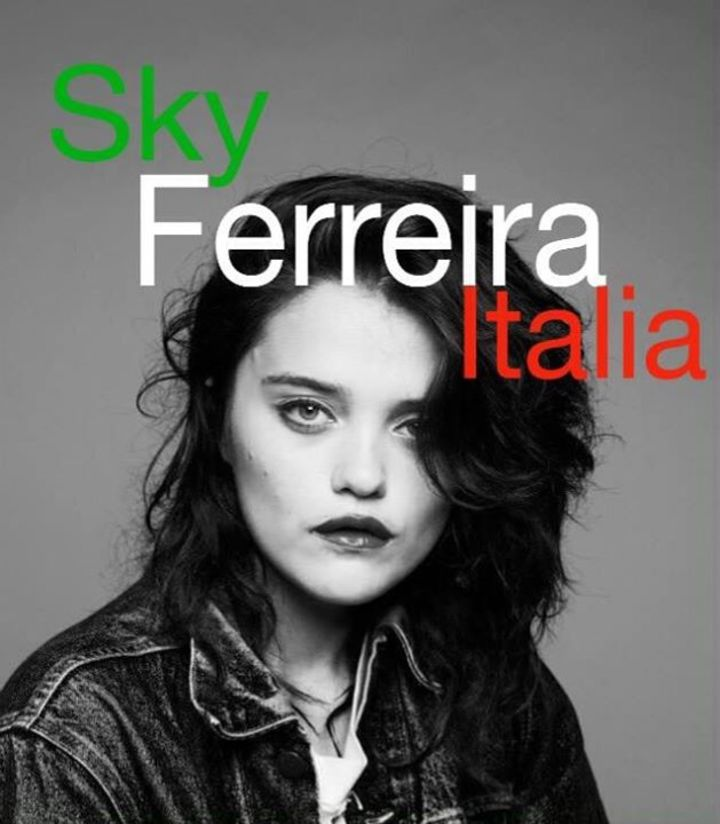 Sky Ferreira Italia Tour Dates