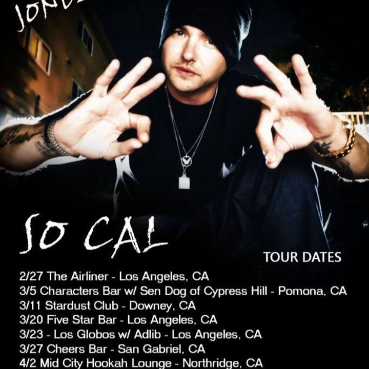 JoneZen Tour Dates
