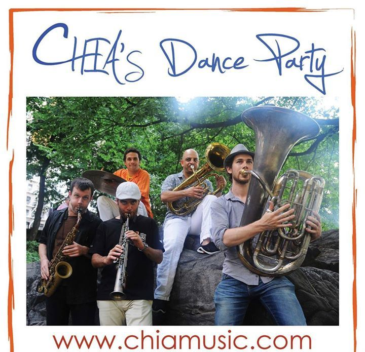 CHIA's Dance Party Tour Dates