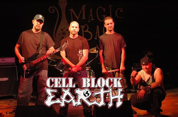 Cell Block Earth Tour Dates