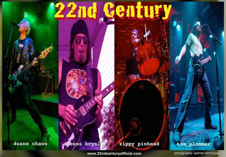 22nd Century Tour Dates