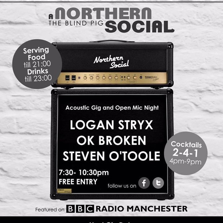 Logan Stryx Tour Dates