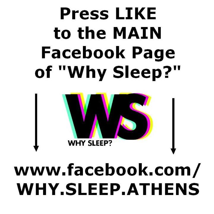 Why Sleep Tour Dates