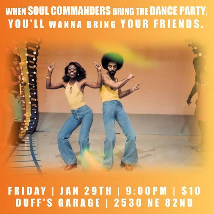 Soul Commanders Tour Dates