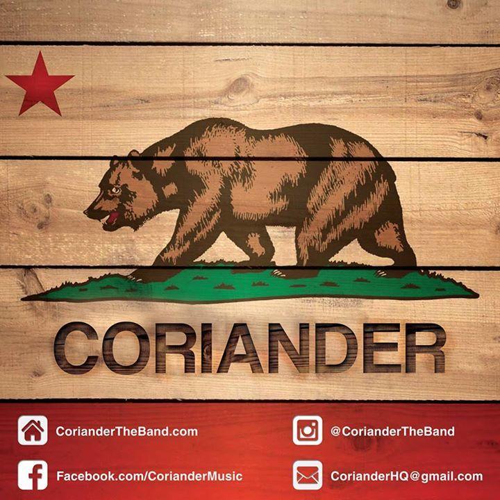Coriander Tour Dates