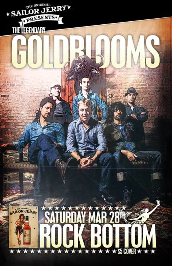 The Legendary Goldblooms Tour Dates