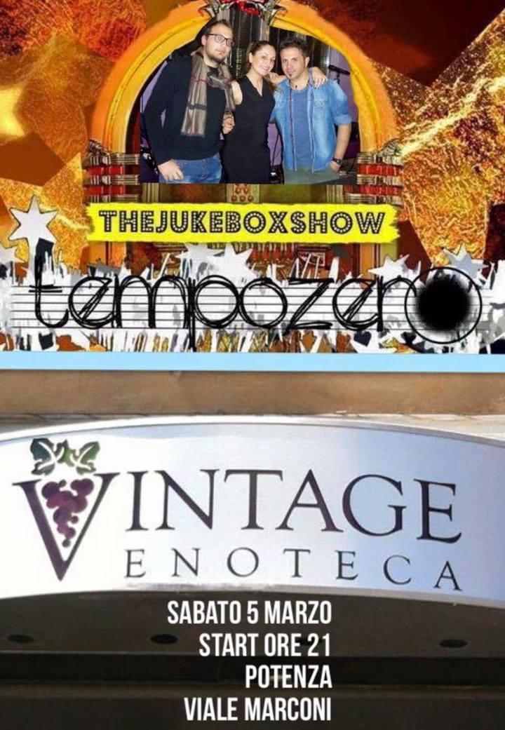 Tempo Zero Tour Dates