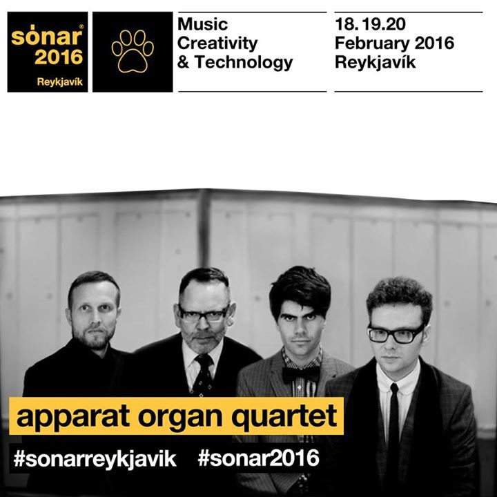 Apparat Organ Quartet Tour Dates
