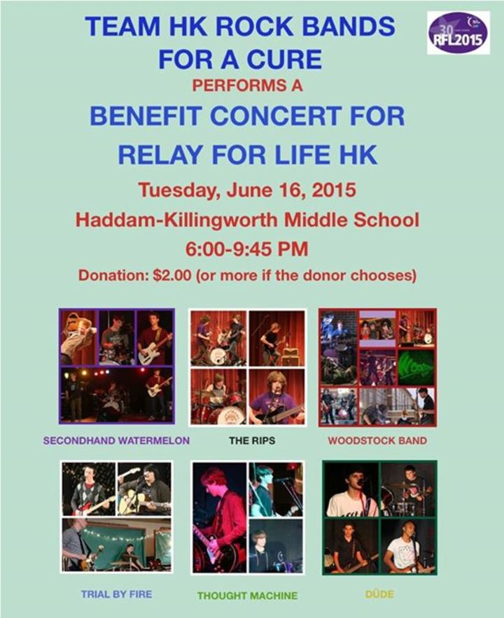 HK Rock Bands for a Cure Tour Dates