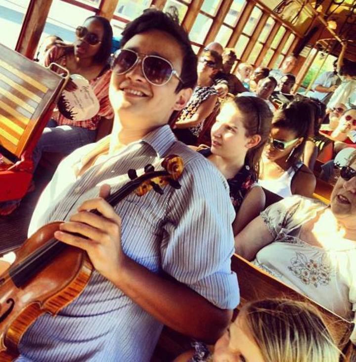 Elbert Belk Violin Instructor Tour Dates