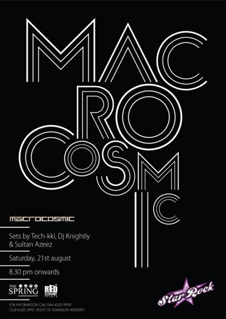 MACROCOSMIC Tour Dates