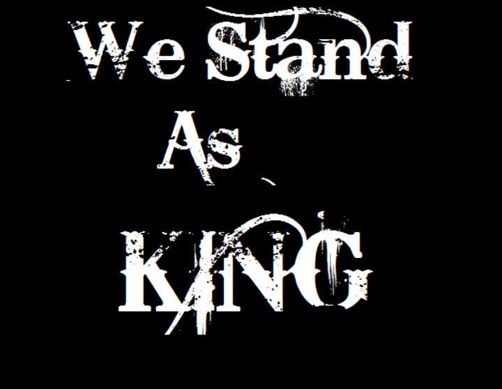 We Stand As King Tour Dates