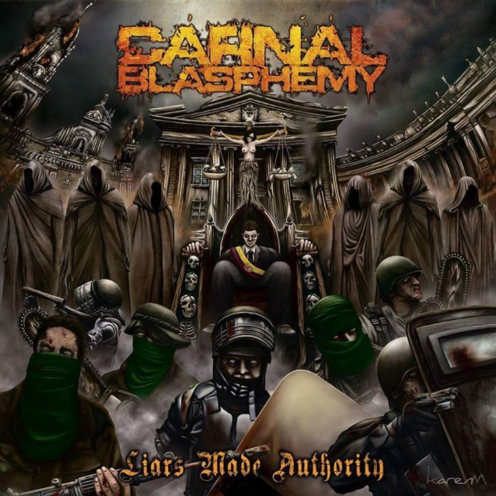 Carnal Blasphemy Tour Dates