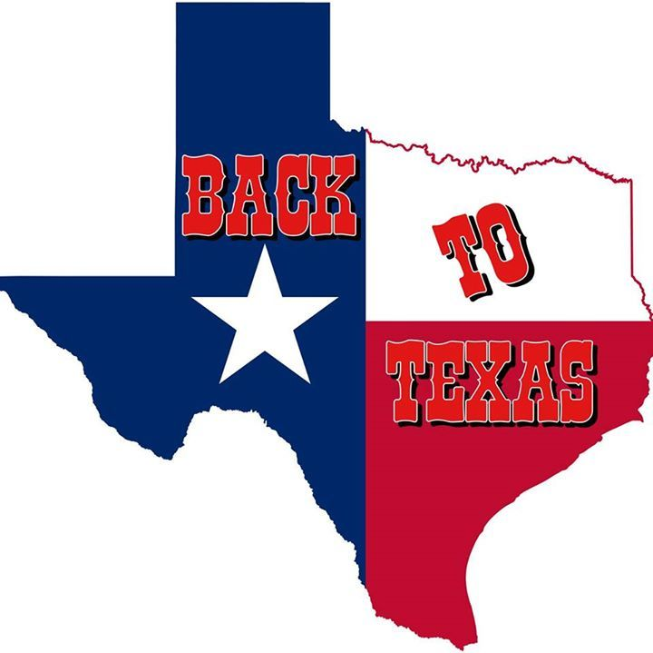 BACK TO TEXAS Tour Dates