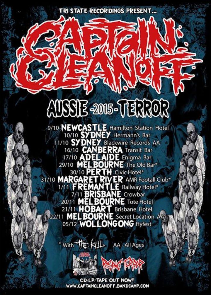 Captain Cleanoff Tour Dates