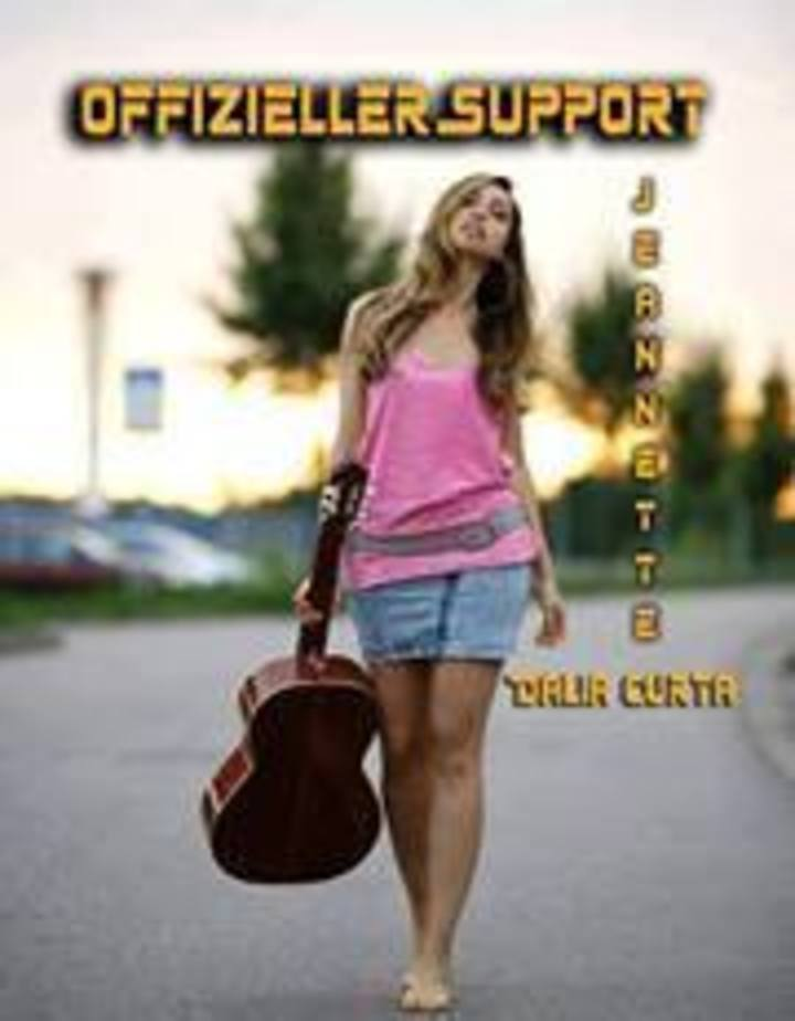 Offizieller Support Jeannette Dalia Curta Tour Dates