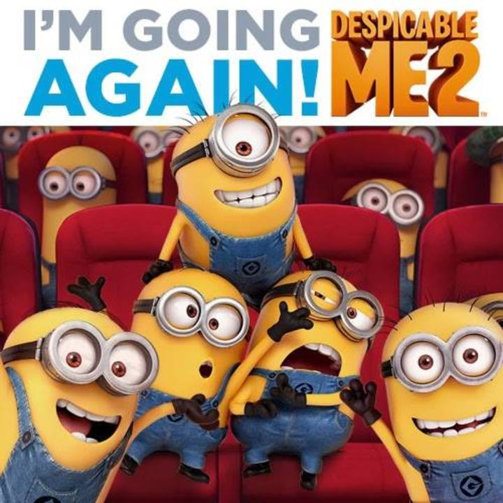 Despicable Me 2 Tour Dates