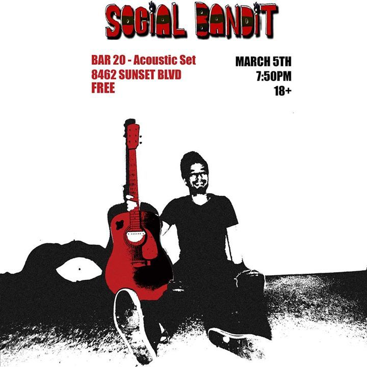 SOCIAL BANDIT Tour Dates