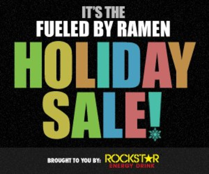 Fueled By Ramen Holiday Sale Tour Dates
