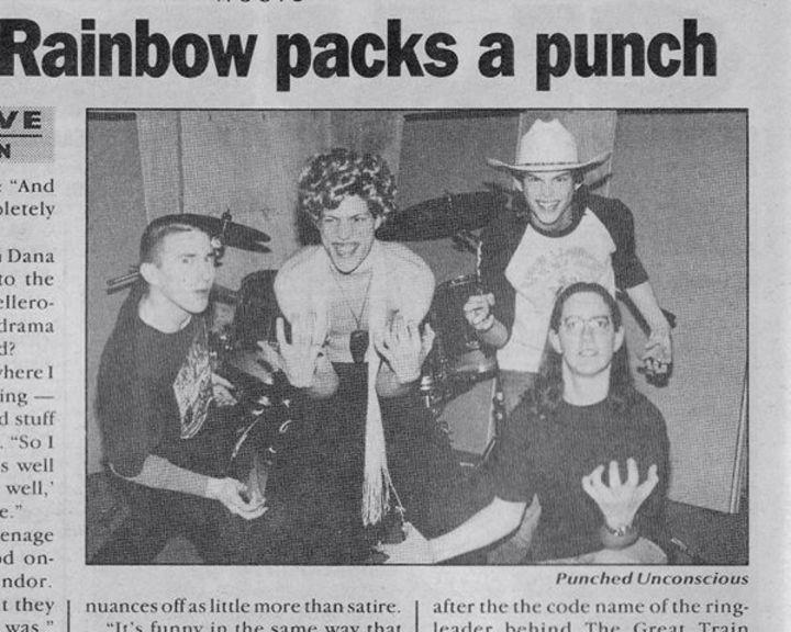 Punched Unconscious Tour Dates