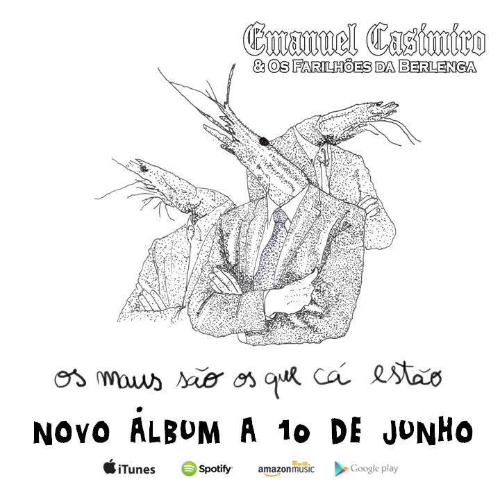 Emanuel Casimiro & Os Farilhões da Berlenga Tour Dates