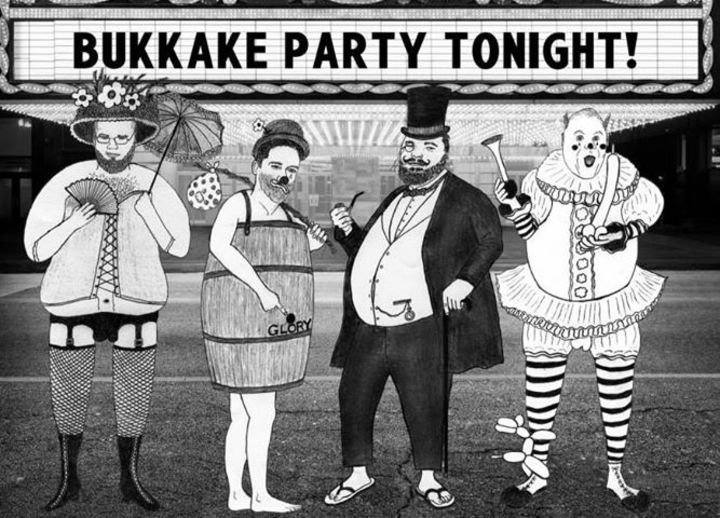 Bukkake Party Tonight Tour Dates