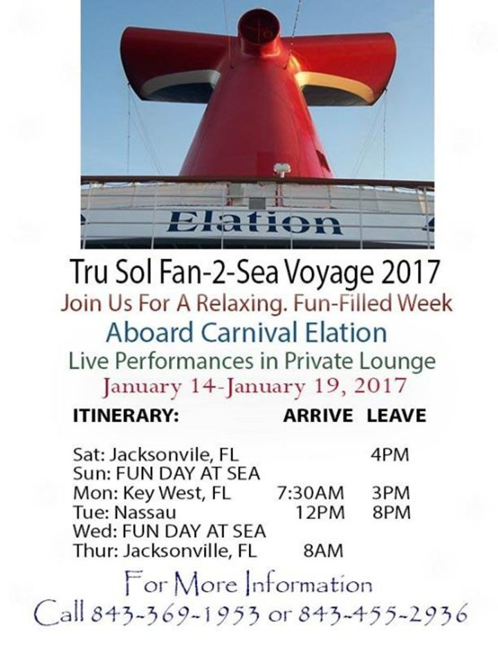 Tru Sol Band Tour Dates