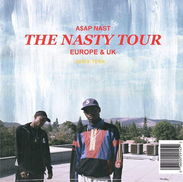 A$AP Nast Tour Dates