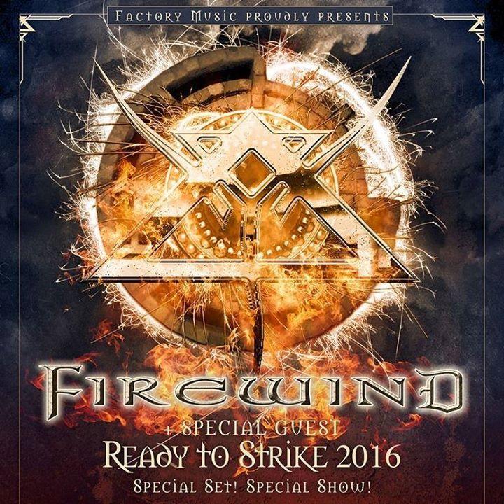 Firewind @ Oakland Metro - Oakland, CA