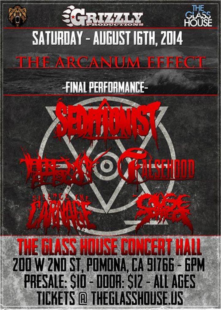 THE ARCANUM EFFECT Tour Dates