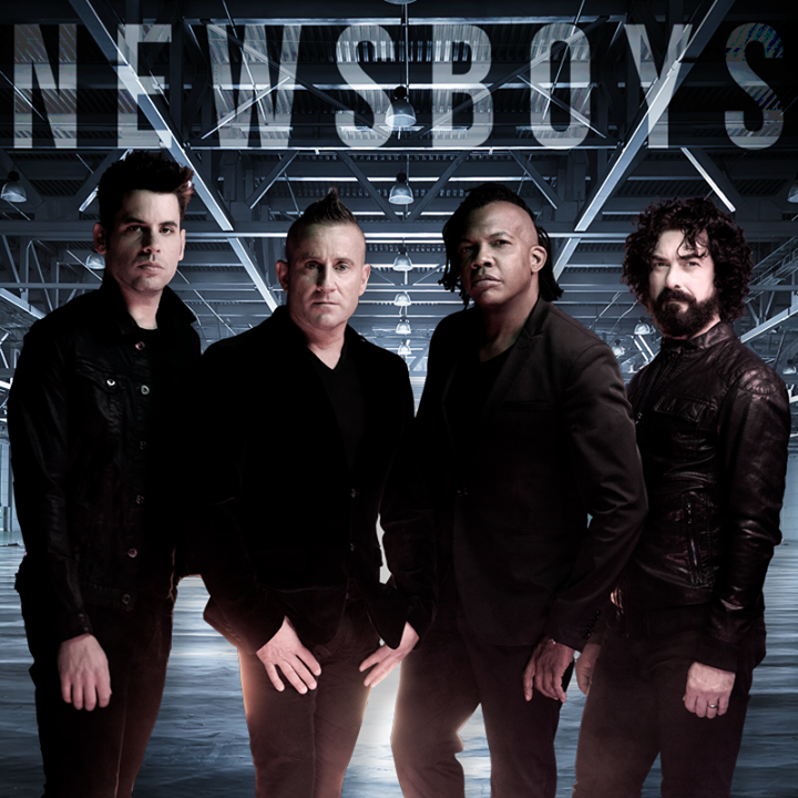 Newsboys @ Bicentennial Center - Salina, KS