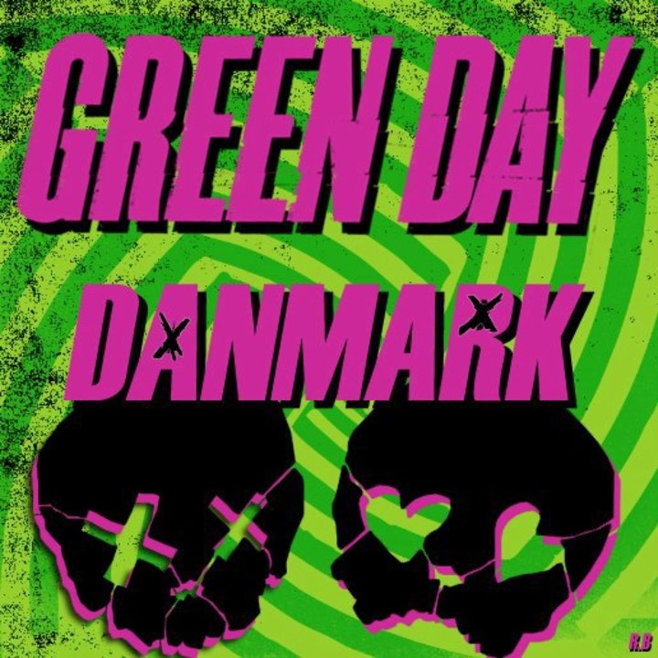 Green Day Denmark Tour Dates