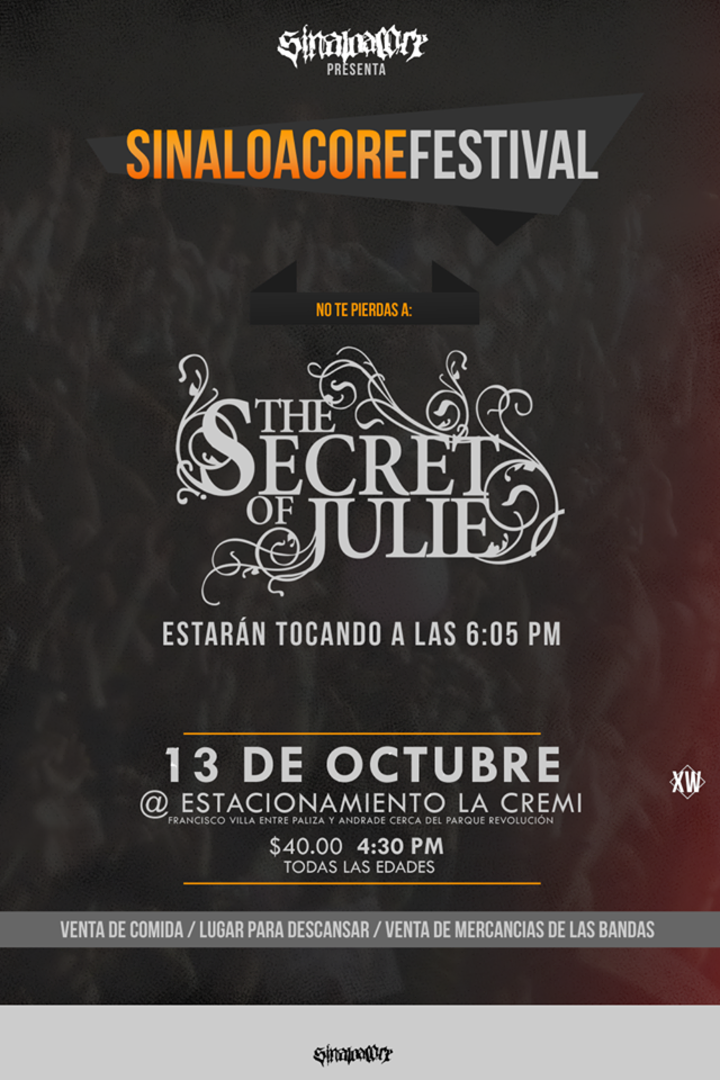 The Secret Of Julie Tour Dates