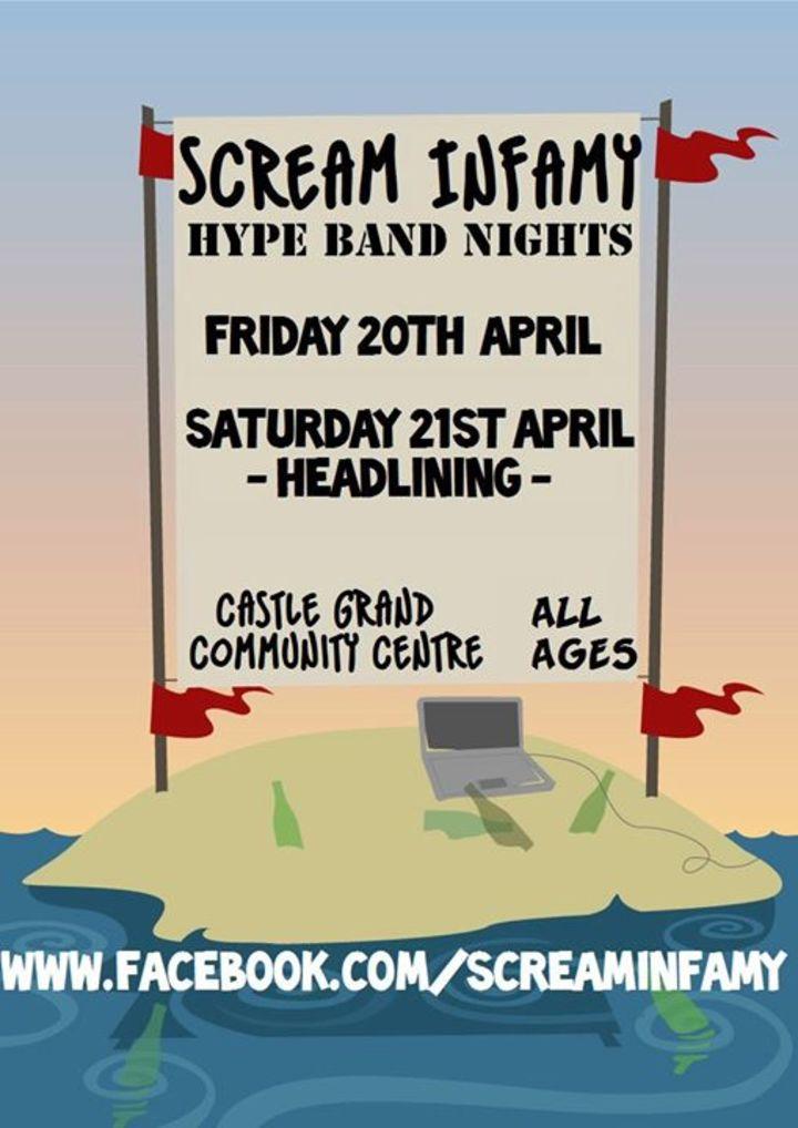 Scream Infamy Tour Dates