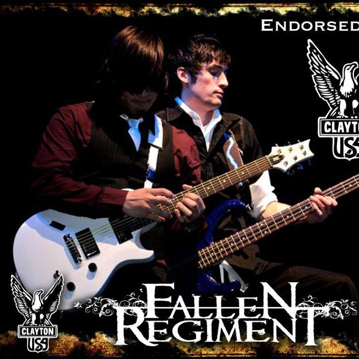 Fallen Regiment Tour Dates