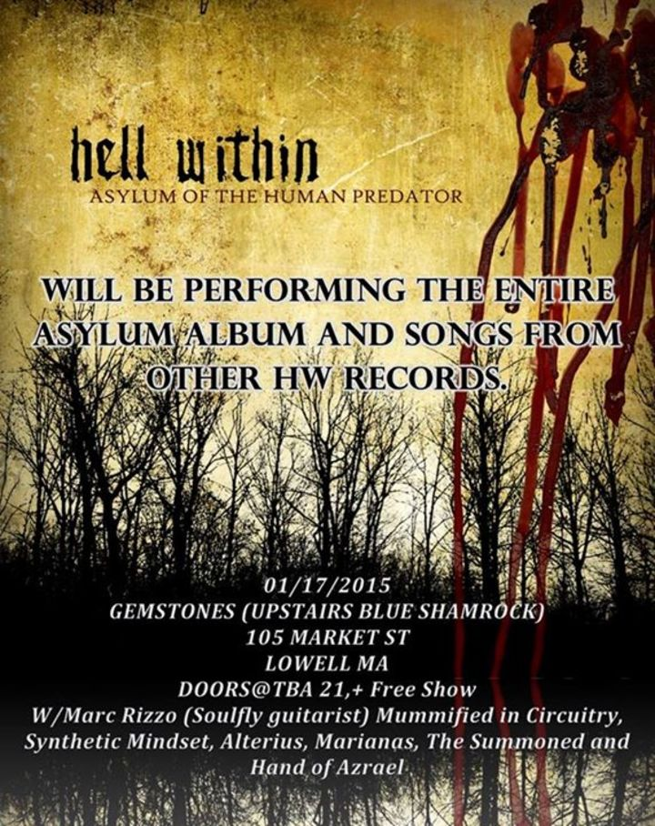 Hell Within Tour Dates