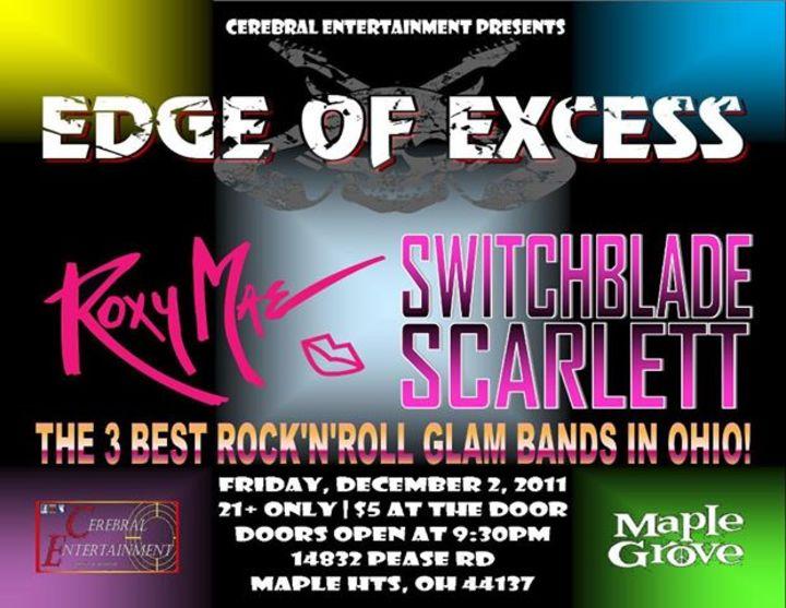 Edge of Excess Tour Dates