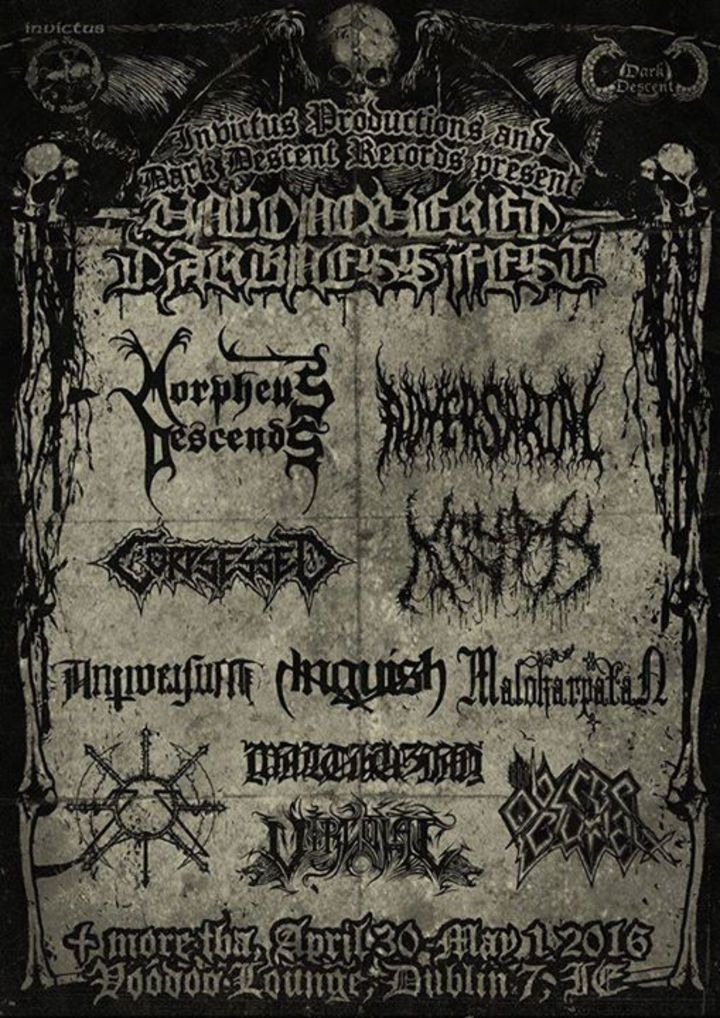 Morpheus Descends Tour Dates