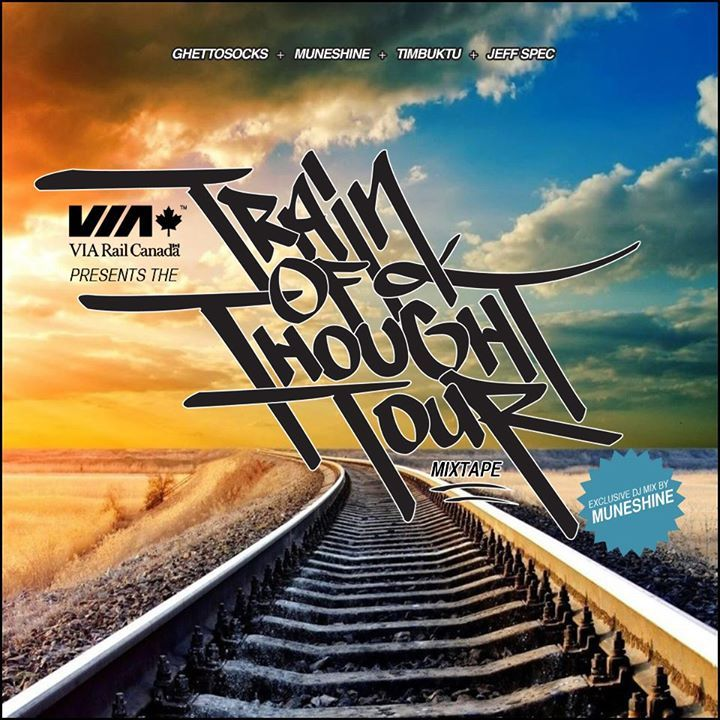 VIA Rail presents: The Train of Thought Tour Tour Dates